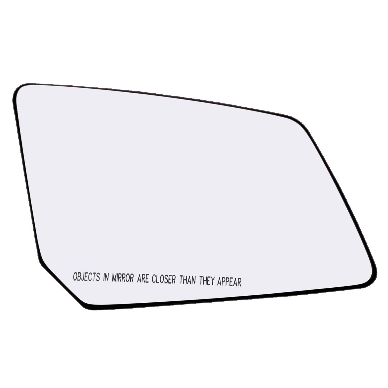 Exterior Mirror Glass w//Backing Plate LH Driver Side for Acadia Outlook Traverse