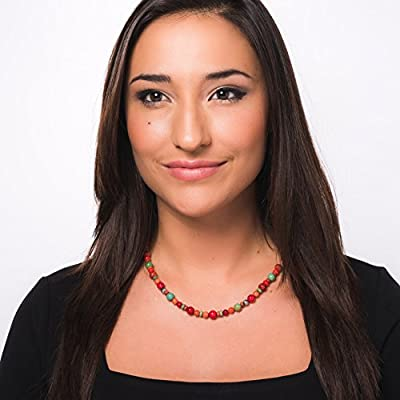 American West Multicolor Beaded Necklace - Earth Spirit Collection