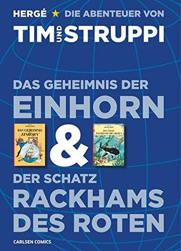 Tim & Struppi: Doppelband: Das Geheimnis der Einhorn und Der Schatz Rackhams des Roten
