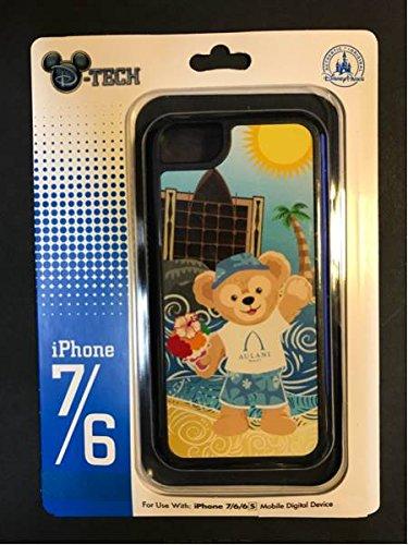 【アウラニ ディズニーリゾート&スパ限定】 ダッフィー iphoneケース iphone6、7用 aurani お土産袋付き