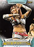 2019 Topps WWE Women's Division #81 Kairi Sane def. Shayna Baszler Wrestling Trading Card
