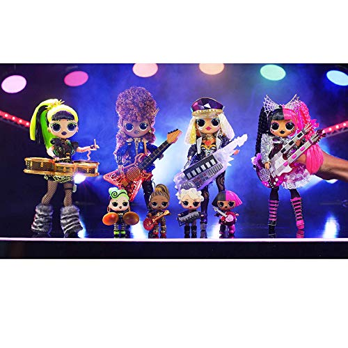 LOL Surprise OMG Remix Super Surprise with 70+ Surprises, Plays Music, 4 Fashion Dolls And 4 Dolls (Sisters), Rock…