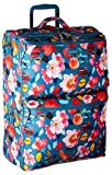 Vera Bradley Lighten up Large Foldable Roller, Polyester, Scattered Superbloom, One Size