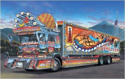 青島文化教材社 1/32 大型デコトラ No.41 絶叫丸 ぜっきょうまる 天下最速ドドンパ野郎 保冷車の商品画像