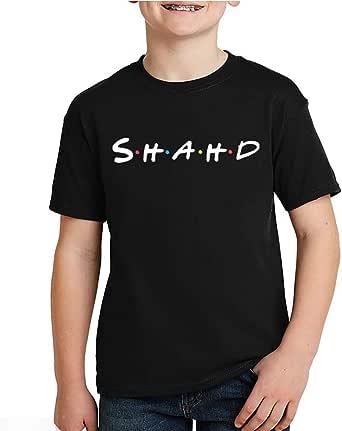 kharbashat Shahd T-Shirt for Boys, Size 34 EU