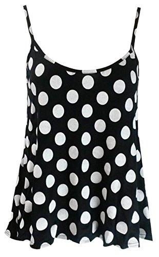 anar kali - Camiseta sin mangas - para mujer Polka Dots