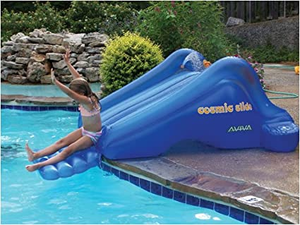 Amazoncom Cosmic Slide Inflatable Pool Slide Toys Games