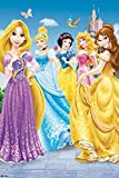 Grupo Erik GPE4586Poster Princesas Disney, carta, Multicolore, 91 x 61,5 x 0,1 cm