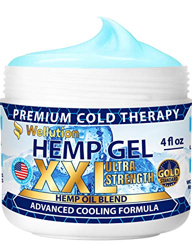 Hemp Gel 2,500,000 Ultra Strength - for Muscle, Back, Nerve, Knee, Joint Pain Relief - All-Natural Blend of Hemp Oil, Arnica, Coconut Oil, Chamomile, Menthol, Vitamin E - Cooling, Soothing, Relaxing