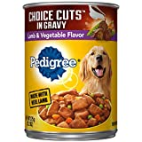 Pedigree Choice CUTS in Gravy Lamb & Vegetable Flavor Adult Canned Wet Dog Food, (12) 13.2 oz. Cans