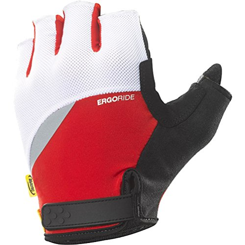 UPC 887850525217, Mavic HC Gloves - Men's Bright Red/White, XL
