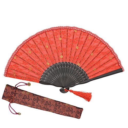red retro fan - 9
