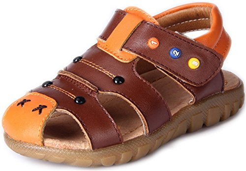 ppxid-boys-girls-closed-toe-outdoor-casual-sandal-brown-6-us-size
