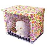 Alfie Pet by Petoga Couture - Chaney Pet Polyester Crate Cover - Size: Medium
