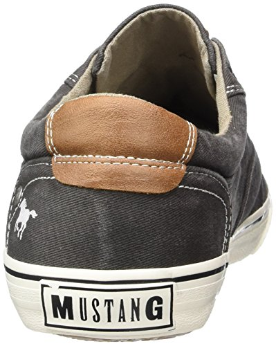 Mustang 4103-301 - Zapatillas Hombre Gris - Grau (20 dunkelgrau)