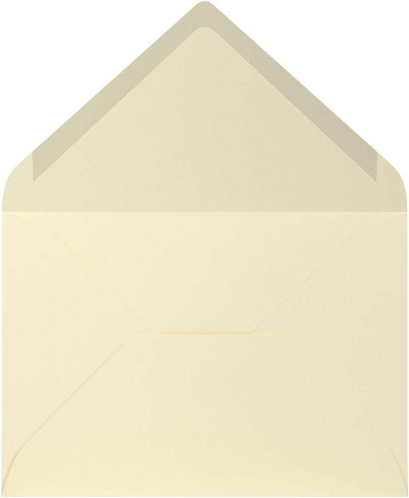 R/össler Coloretti Sobres, 80/g//m/², B6, 5/unidades color beige