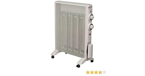 FM Calefacción RS-15 Blanco 1500W Radiador - Calefactor (Radiador, Piso, Blanco, Giratorio, 1500 W, 750 W): Amazon.es: Hogar