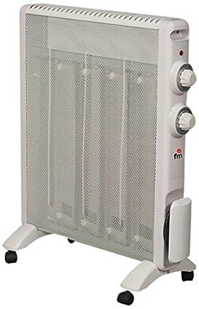 FM Calefacción RS-15 Blanco 1500W Radiador - Calefactor (Radiador, Piso, Blanco