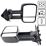 oem f150 tow mirrors - Towing Mirror Fits 1997-2003 Ford F150 | Side View Towing Tow Mirrors Power Non-Heated Pair 2PC by IKON MOTORSPORTS | 1998 1999 2000 2001 2002