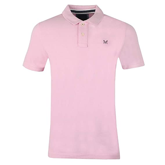 6923110d0 Crew Clothing Company - Classic Pique Polo, Classic Pink: Amazon.co.uk:  Clothing