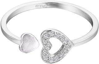 QIANDI MIDI anello a forma di V geometrico Minimalism gioielli argento triangolo Knuckle anelli per le donne regalo QIANDI JEWELRY LTD MAQDR052419