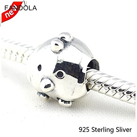 0e8b42f1f Amazon.com: Fits Pandora Bracelets Jewelry 100% 925 Sterling Silver ...