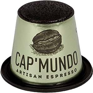 Cap Mundo Copaiba 50 Cápsulas de Café Orgánico, compatible con Nespresso - 100% Arábica