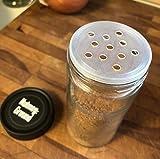 AllSpice 4 Ounce Glass Spice Jars