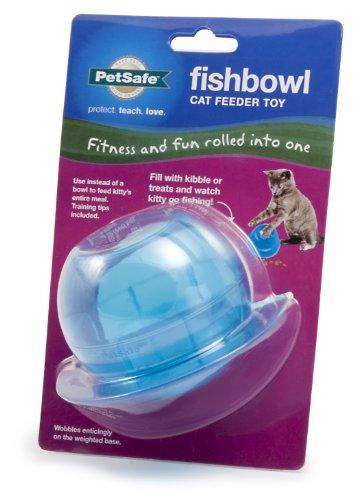 PetSafe Fishbowl Food Dispensing Cat Toy (Slimcat Cat)
