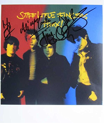 Superb Stiff Little Fingers Signiertes Foto, 10 x 8