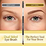 Duo Eyebrow Brush by Keshima - Premium Quality