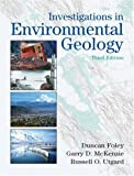 Investigations in Environmental Geology 9780131420649