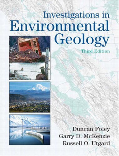 Investigations in Environmental Geology (3rd Edition)