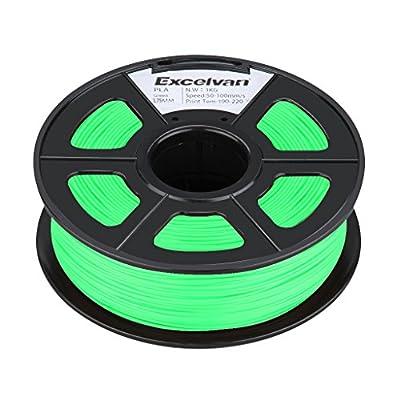 3D Printer Filament PLA 1.75mm Green