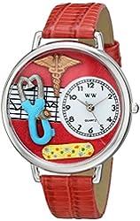 Whimsical Watches Unisex US0620053 Nurse 2 Analog Display Japanese Quartz Red Watch