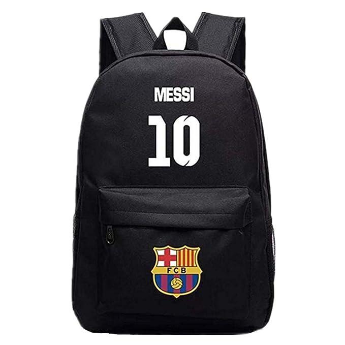 Amazon.com: Barcelona Lionel Messi 10 Fans Mochila para Back ...