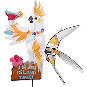 Premier Kites Party Animal viento Spinner–cacatúa (I 'm en isla tiempo)