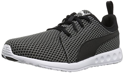 PUMA Men's Carson Knitted Cross-Trainer Shoe, Quiet Shade Black, 10 M US For Sale