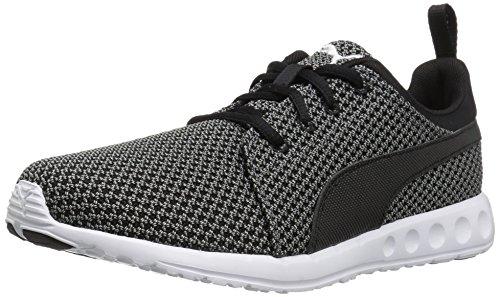 Price comparison product image PUMA Men's Carson Knitted Cross-Trainer Shoe,  Quiet Shade-Puma Black,  10 M US