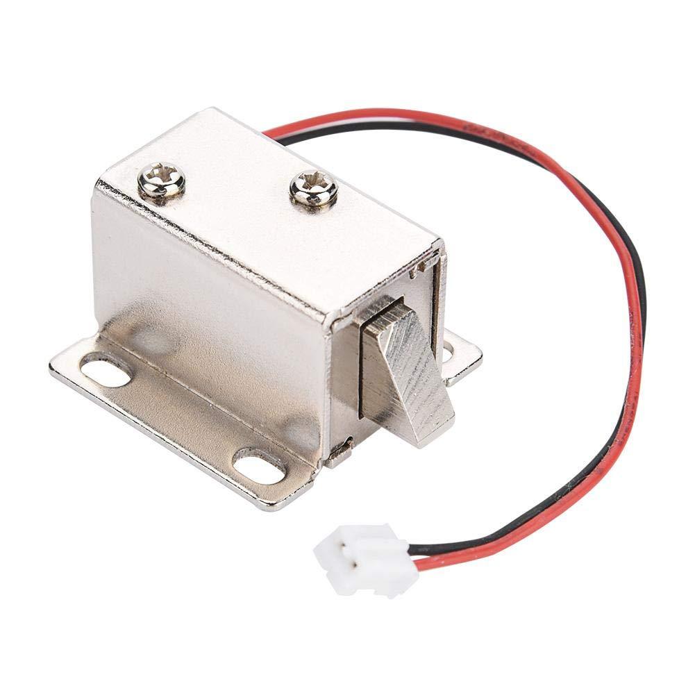DC 12V 0.4A 10mm Gruppo elettrovalvola elettromagnetica per serratura Electirc Lock Cabinet Lock.