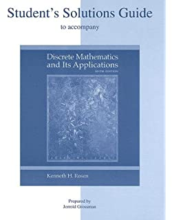 discrete mathematics and its applications kenneth h rosen