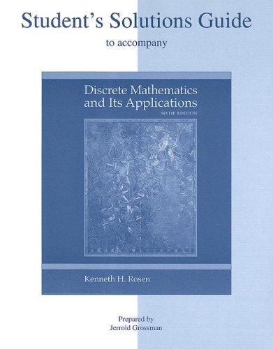 Download Students Solutions Guide To Accompany Discrete Mathematics