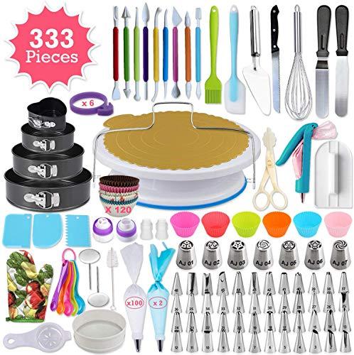 333pcs Cake Decorating Kit