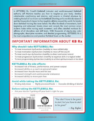 Kettlebell Rx: The Complete Guide for Athletes and Coaches: Jeff ...