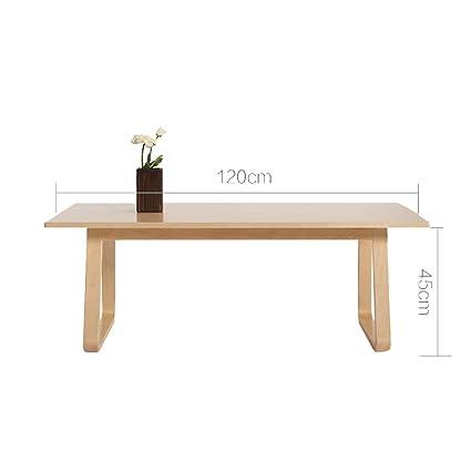 XIAOLIN Tavolino in legno massello Soggiorno Tavolino in legno ...