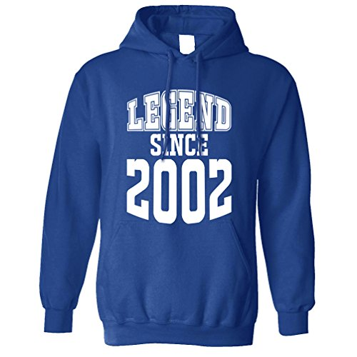 Tim And Ted 16th Birthday Unisex Hoodie Legend Since 2002
