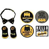 DC Comics Baby Boys Assorted Characters Milestone Stickers...