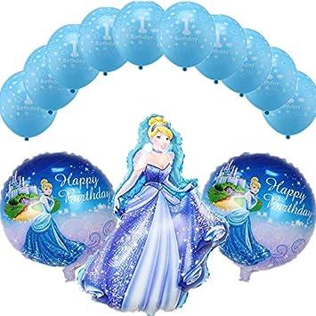 LIZHIOO Conjunto de Globos 13 unids / Set Princesa ...