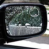 Zone Tech Car Round Blind Spot Mirror Thin