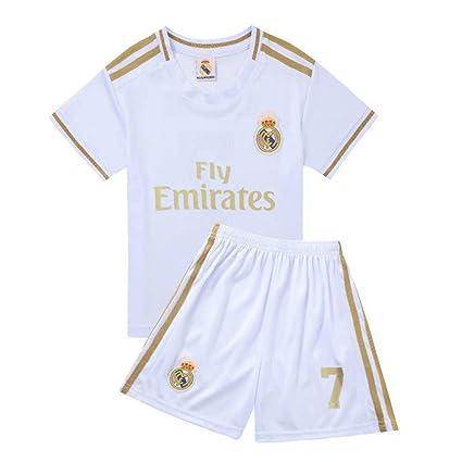 LLforever Jersey de fútbol para niños - Real Madrid, 7 ...